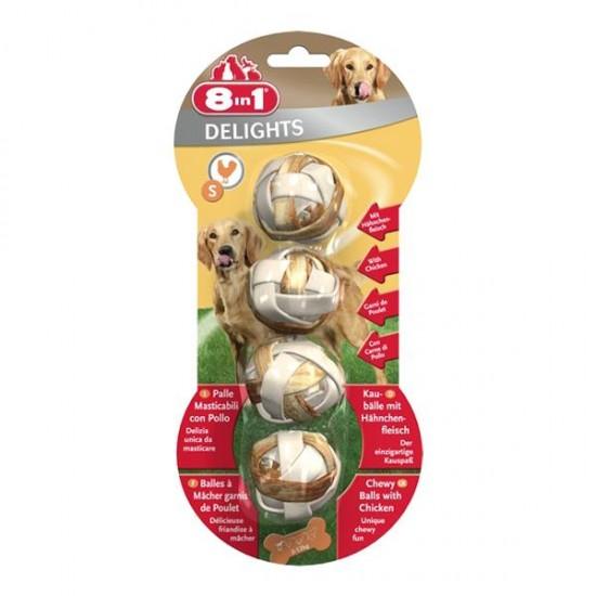 8in1 Delight Balls S Köpek Ödülü