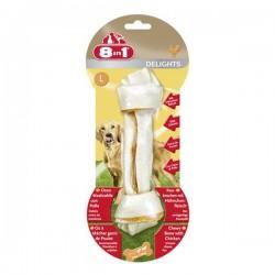 8in1 Delight Bones L Tavuklu Köpek Ödül Kemiği