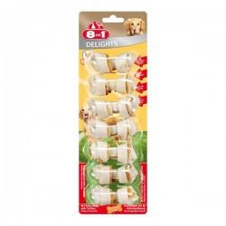8in1 Delight Bones XS Tavuklu Köpek Ödül Kemiği