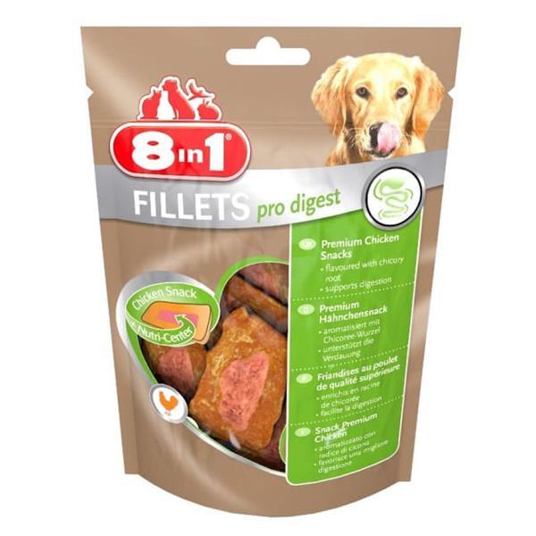 8 in 1 Fillets Pro Digest Tavuk Fileto Köpek Ödül Maması 80gr