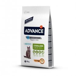 Advance Junior Sterilized Tavuklu Kısırlaştırılmış Yavru Kedi Maması 10Kg
