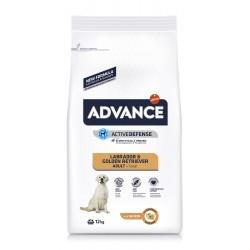 Advance Adult Labrador ve Golden Retriever Tavuklu Yetişkin Köpek Maması 12Kg