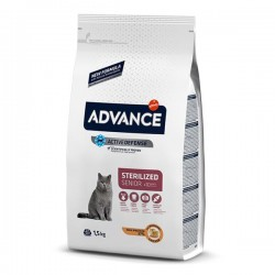 Advance Sterilised Tavuklu Yaşlı Kedi Maması 1,5 Kg