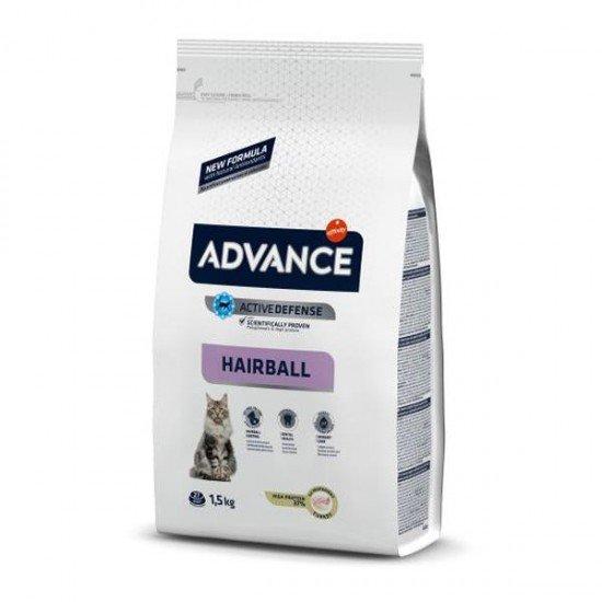Advance Adult Hairball Hindili Yetişkin Kedi Maması 1,5Kg