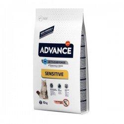 Advance Adult Sensitive Somonlu Yetişkin Kedi Maması 10Kg