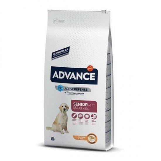 Advance Maxi Senior Tavuklu Büyük Irk Yaşlı Köpek Maması 14Kg