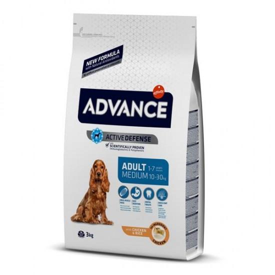 Advance Medium Tavuklu Yetişkin Köpek Maması 3 Kg