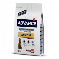 Advance Sensitive Kuzu Etli Yetişkin Köpek Maması 3 Kg