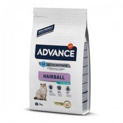Advance Sterilized Hairball Hindili Kısırlaştırılmış Kedi Maması 3Kg