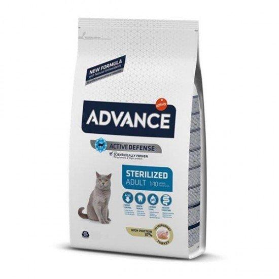 Advance Sterilized Hindili Kısırlaştırılmış Kedi Maması 1,5Kg