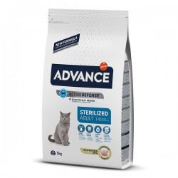 Advance Sterilised Hindi Etli Kısırlaştırılmış Kedi Maması 3 Kg