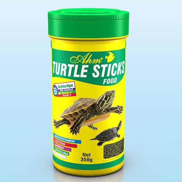 Ahm Turtle Sticks Food 250 ml