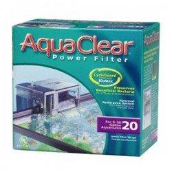Aqua Clear 20 Mini Askı Filtre 378Lt/H 18-76 Lt Akvaryumlar