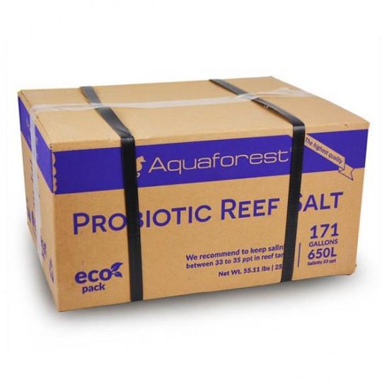 Aquaforest Probiotic Reef Salt Box 25Kg