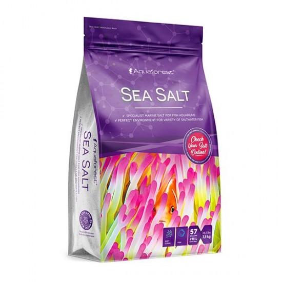 Aquaforest Sea Salt Bag 7,5Kg Deniz Tuzu