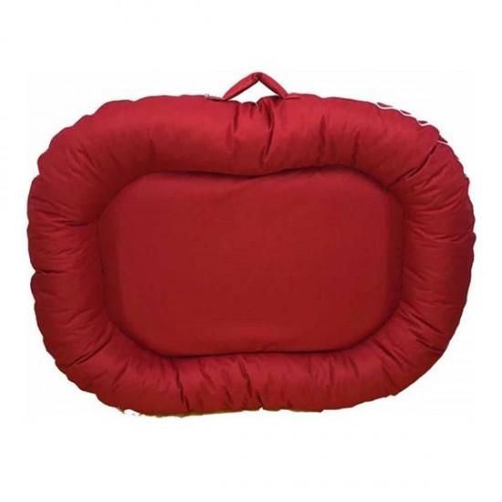 Bedspet Dış Mekan Kedi Köpek Yatağı 115x80 Cm Kırmızı
