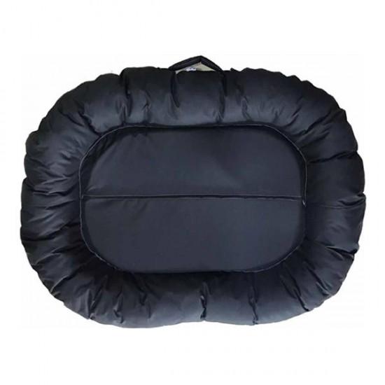 Bedspet Dış Mekan Kedi Köpek Yatağı 115x80 Cm Siyah