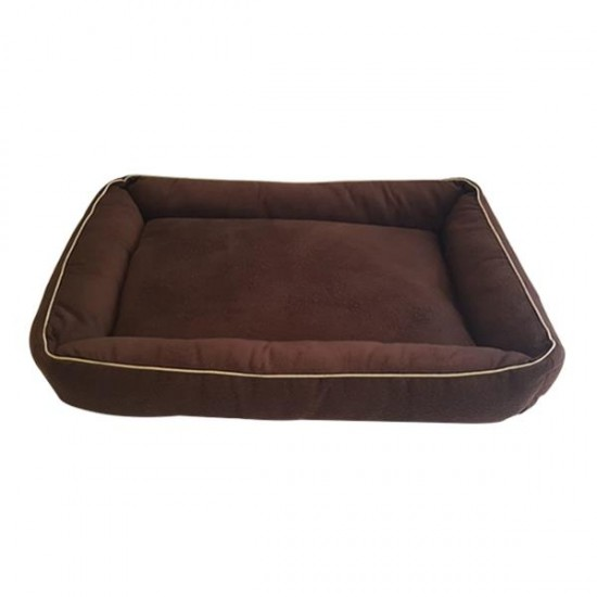 Bedspet İç Mekan Kedi Köpek Yatağı Kahverengi