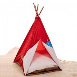 Bedspet Kedi Çadırı - Kırmızı