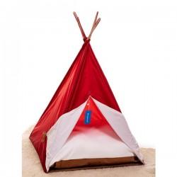 Bedspet Kedi Çadırı - Kırmızı - Büyük Boy