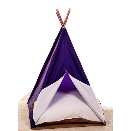 Bedspet Kedi Çadırı - Mor - Büyük Boy
