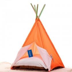 Bedspet Kedi Çadırı - Turuncu - Büyük Boy