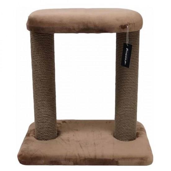 Bedspet Model 1 Kedi Tırmalama Tahtası Kahverengi