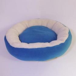 Bedspet Simit Kedi Köpek Yatağı Mavi