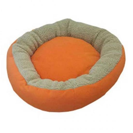Bedspet Simit Kedi Köpek Yatağı Sarı