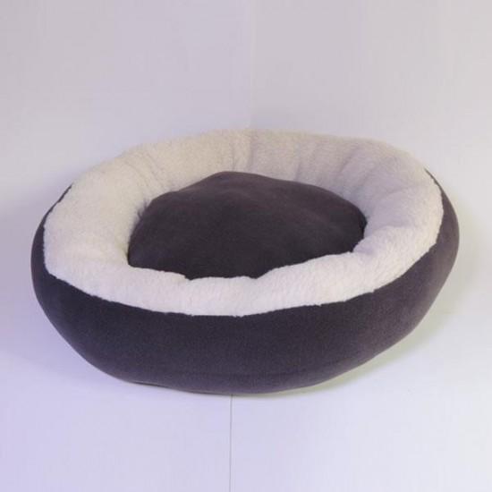 Bedspet Simit Kedi Köpek Yatağı Siyah