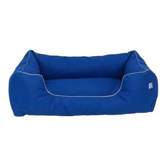 Bedspet Su Geçirmez Köpek Yatağı No 3 80x60x15Cm Mavi