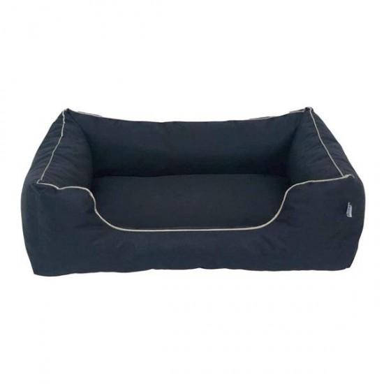 Bedspet Su Geçirmez Köpek Yatağı No 3 80x60x15Cm Siyah