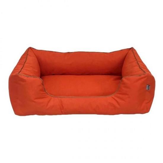 Bedspet Su Geçirmez Köpek Yatağı No 3 80x60x15Cm Turuncu