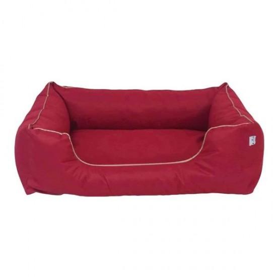 Bedspet Su Geçirmez Köpek Yatağı No 4 100x80x15Cm Kırmızı