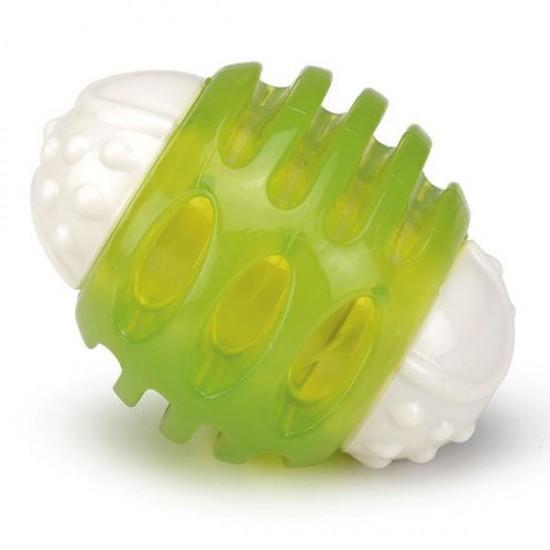 Beeztees Ribsy Lastik Köpek Oyuncağı Yeşil 8Cm