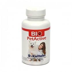 Bio PetActive D-Kaltabs Kedi ve Köpek için Kalsiyum Tableti 84 Adet