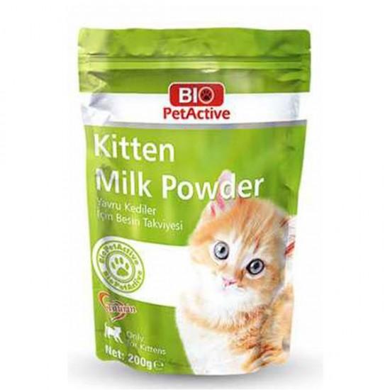 Bio PetActive Kitten Milk Powder Yavru Kedi için Süt Tozu 200gr