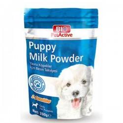 Bio PetActive Puppy Milk Powder Yavru Köpek için Süt Tozu 200gr