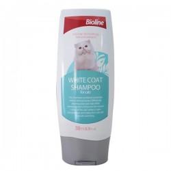 Bioline Beyaz Tüylü Kediler İçin Kedi Şampuanı 200 ml