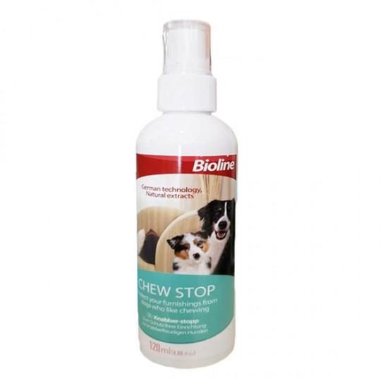 Bioline Köpekler İçin Kemirme Önleyici Sprey 120 ml