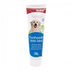 Bioline Nane Aromalı Köpek Diş Macunu 100gr