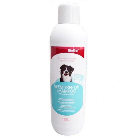 Bioline Neem Ağaçı Özlü Köpek Şampuanı 1Lt
