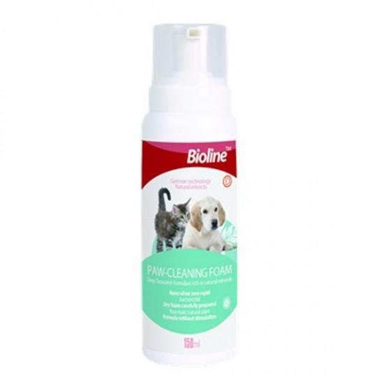 Bioline Kedi ve Köpek Pati Temizleme Köpüğü 150ml