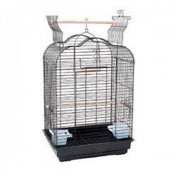 Bird Life 6005 Üstü Açılır Papağan Kafesi Pirinç 47x36x68 Cm