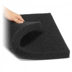Biyolojik Filtre Süngeri Siyah 30x30x5cm