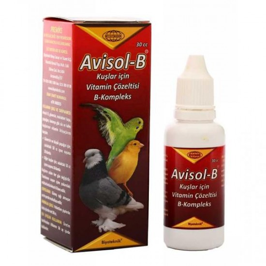 Biyoteknik Avisol-B Kuş Vitamini 30cc