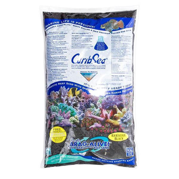 CaribSea Arag Alive Hawaian Black 9.07 Kg