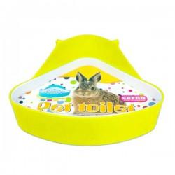 Carno Tavşan Tuvaleti Üçgen Sarı