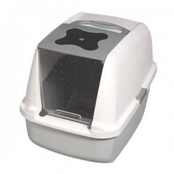Catit Kapaklı Kedi Tuvaleti Gri