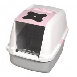 Catit Kapalı Kedi Tuvalet Kabı Pembe